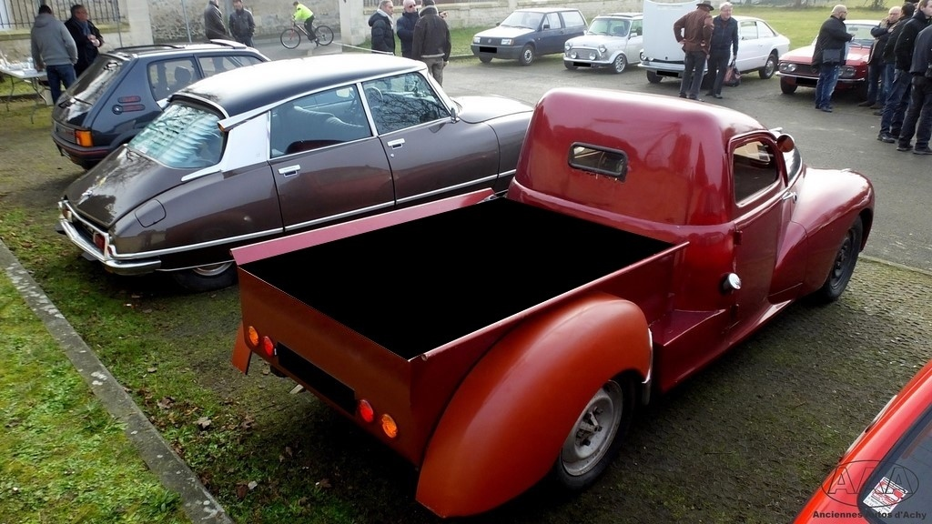 Gouvieux peugeot 203 pick up