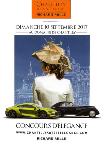 Chantilly Arts et Elegance Richard Mille affiche