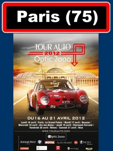 AFFICHE TOUR AUTO Optic 2000-2012