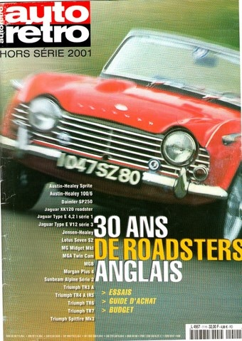 30 ans de roadsters anglais mg b