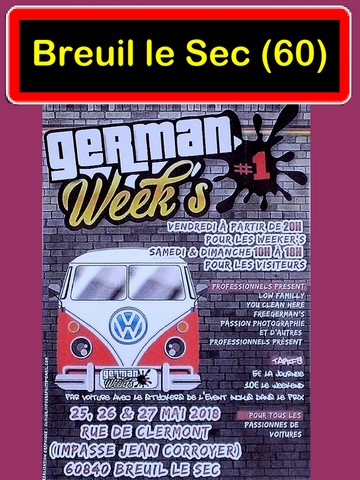 breuil le sec German Week's