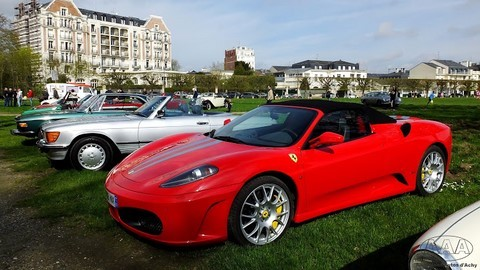 Chantilly Ferrari
