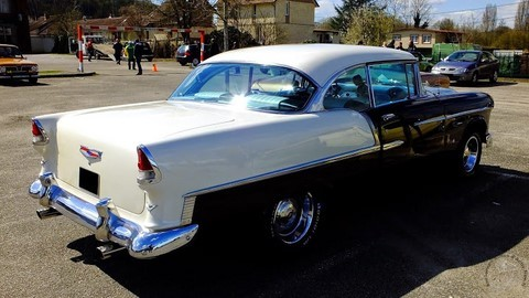 CHEVROLET BEL AIR 1956 COUPE