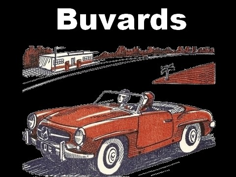 Collection de buvards anciens