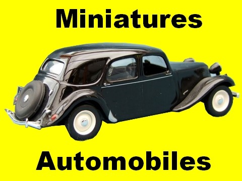 collection de miniatures automobiles