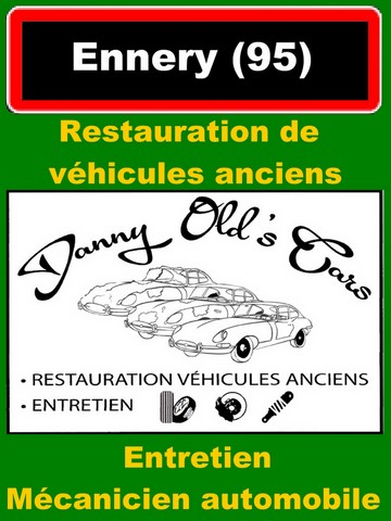 restauration voitures ennery