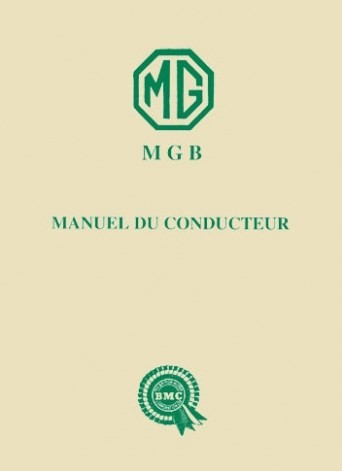 manuel du conducteur mgb