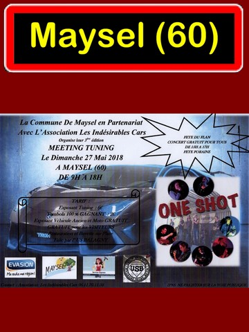 Meeting tuning Maysel Les indésirables cars