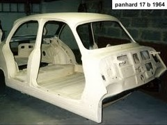 restauration panhard 17 b 1964