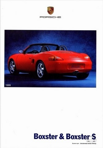catalogue Porsche Boxster 1999