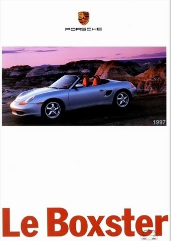 catalogue Porsche Boxster 1997