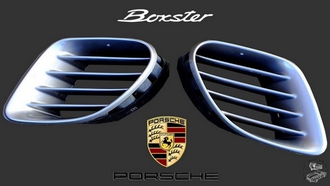 side air intake grill porsche boxster 986