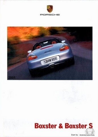 catalogue Porsche Boxster 2001