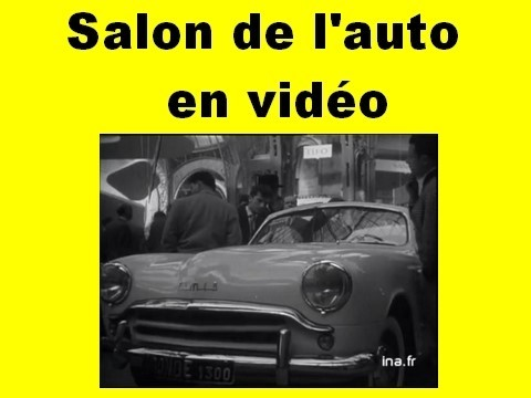 salon de l'auto en video