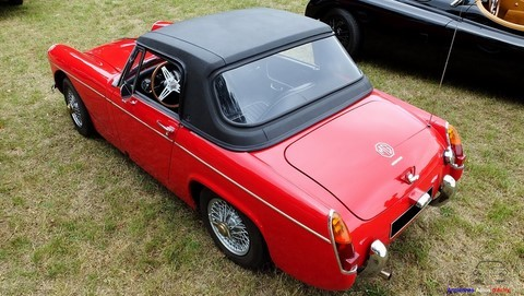 mg midget hard top